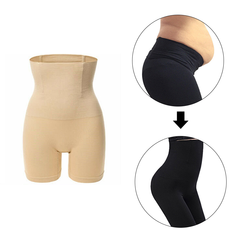 Sexy Women Body Shapers Model Breathable Abdominal Pants Women Shapermint Control Slim High Waist Shorts Solid Sling Underwear