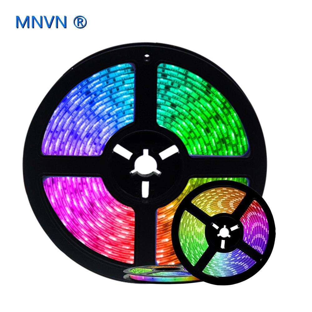 Светодиодные ленты Bluetooth светильник 5 м 20 м RGB 2835 SMD 5050 водонепроницаемый диодный фон для телевизора, украшение для видеосъемки, подходит для ...