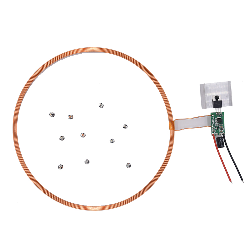 XKT801-05 One-to-many Decorative Lights Wireless Power Supply Wireless Charging Module