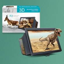 1pc acessórios do telefone 3d amplificador de tela do telefone móvel ampliador de tela portátil ampliada para smartphone