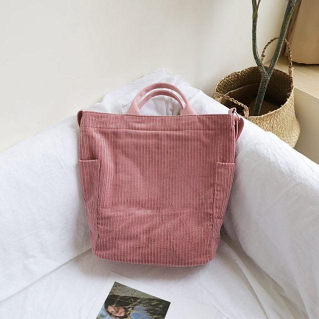 Large Capacity Cloth Handbag  women 3