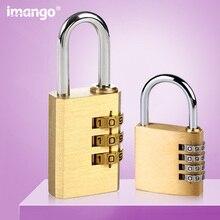 Высококачественный замок, твердый латунный замок, цифра, кодовый пароль, секретный код для тренажерного зала, уличный шкафчик, чехол из меди и нержавеющей стали