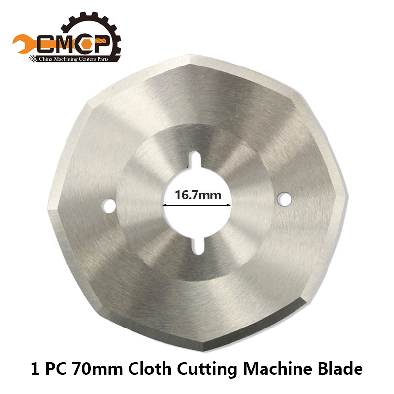 Free Shipping 1PC Out Daimeter 70mm Cutter Blade For Cloth Cutting Machine Blade HSS Fabric Cutting Knife HSS Cutting Disc