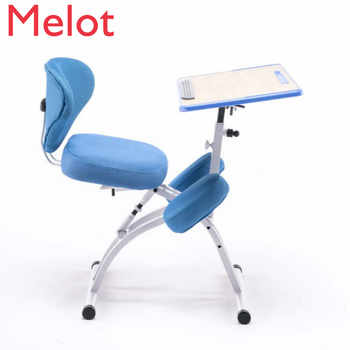 Adjustable Desktop Tablet Training Chair With Writing Board Adjustable Height Angle Lifting Chair With Mesh Backrest bear 150kg - DISCOUNT ITEM  8 OFF All Category