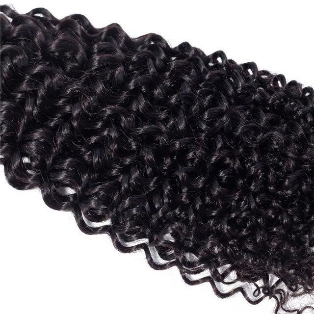 Kinky Curly Bundles Brazilian Hair Weave Bundles 28 32 30 Inch Bundles Non Remy 100% Human Hair Bundles Hair Extension Ariel 6