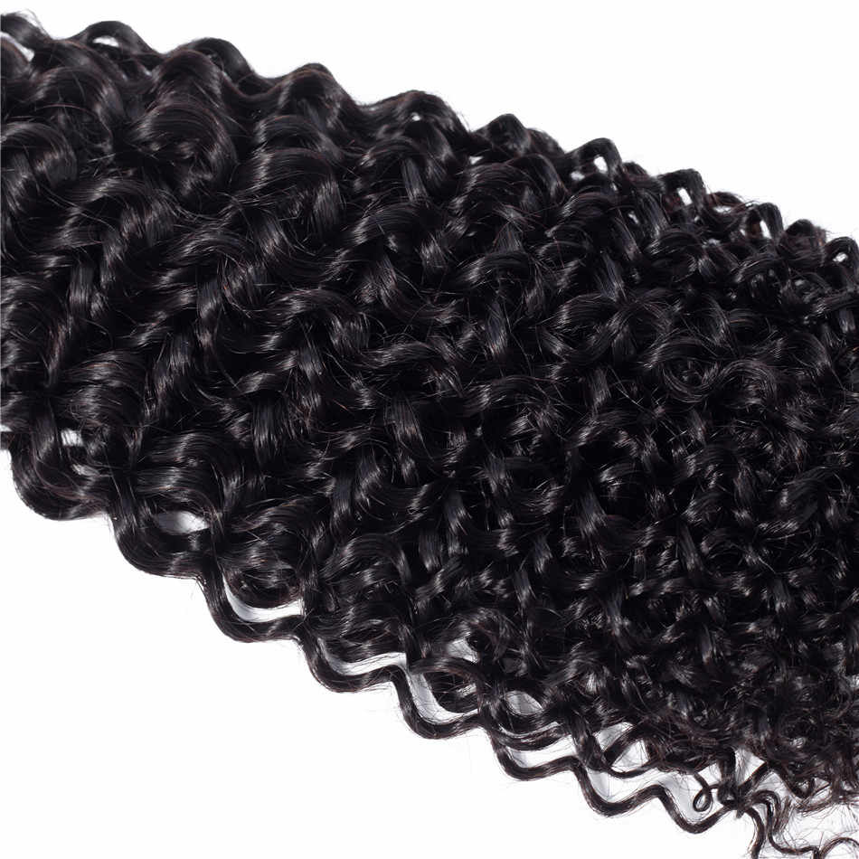 Kinky Curly Bundles Brazilian Hair Weave Bundles 28 32 30 Inch Bundles Non Remy 100% Human Hair Bundles Hair Extension Ariel