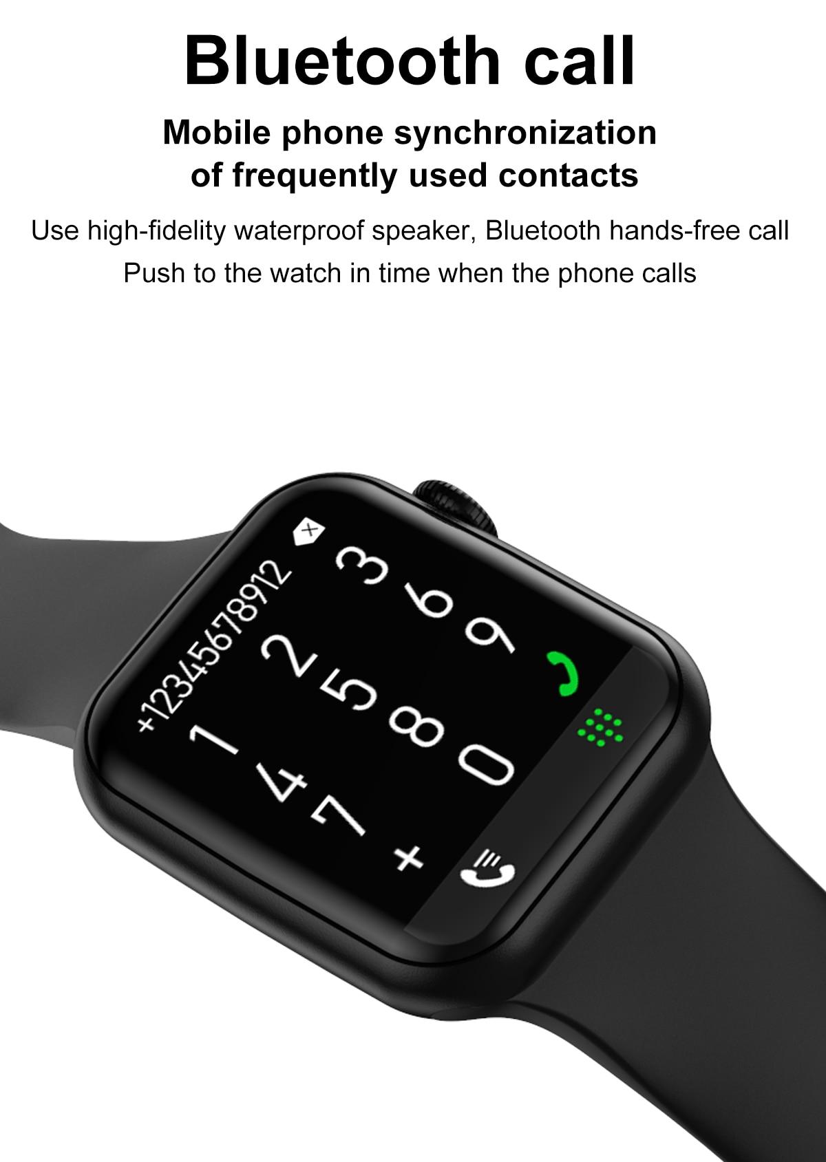 H3e7bcd6d55dc46c9bd2b615933ae54273 DT100 pro Smart Watch Bluetooth Call Custom Dynamic Watch Face IP68 Waterproof Smartwatch Men Women for Apple Watch Iwo W26