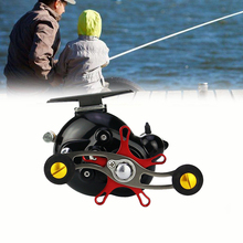 цена на Fishing Reel Lizard Right And Left Hand Trolling  Boat Reel With Electric Power Line Counting Multiplier Reel Drum Fishing Reel