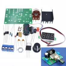 LM317 Adjustable Voltage Regulator Power Board kit Production Electronic DIY Lar