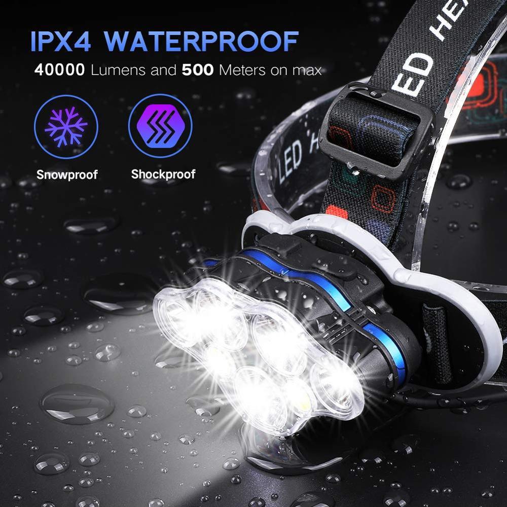lowest price 400000 Lumens XHP90 3 High Powerful LED flashlight led torch usb Rechargeable 18650 26650 flash light XHP90 XHP70 XHP50 Lantern