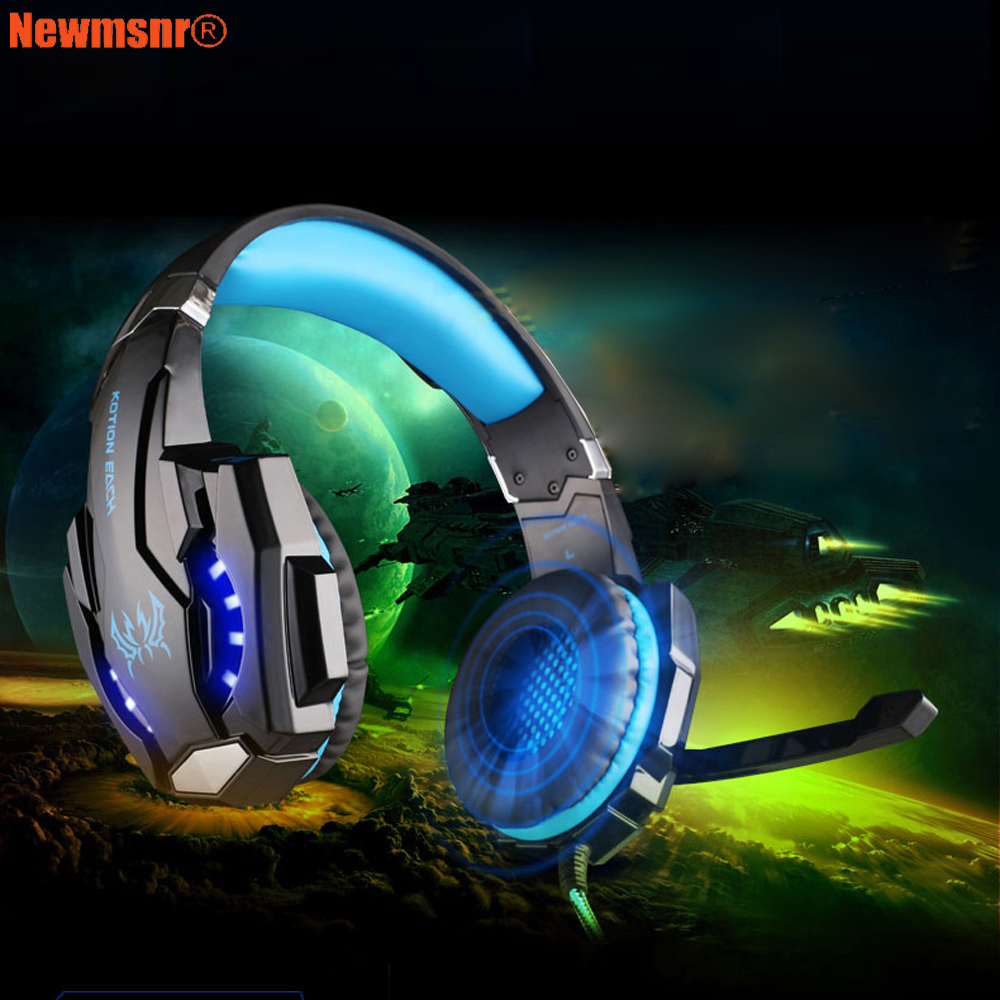 Newmsnr G9000 USB 7.1/3.5mm plug Surround Sound Version Game Gaming Headphone Computer Headset Earphone Headband with Microphone