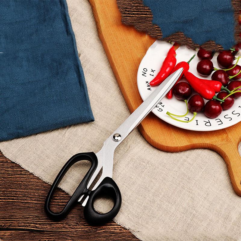Винтажные профессиональные ножницы из нержавеющей стали, инструмент обивки, текстиль, кожаные ножницы для джинсовой ткани, швейная вышивка, schaar|Портновские ножницы|   | АлиЭкспресс
