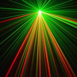 Image 5 - Doppel Farben Strobe Voice Control Laser Disco Party Lichter mit Grafiken Ausrüstung Dj Bühne Lumiere Soundlights