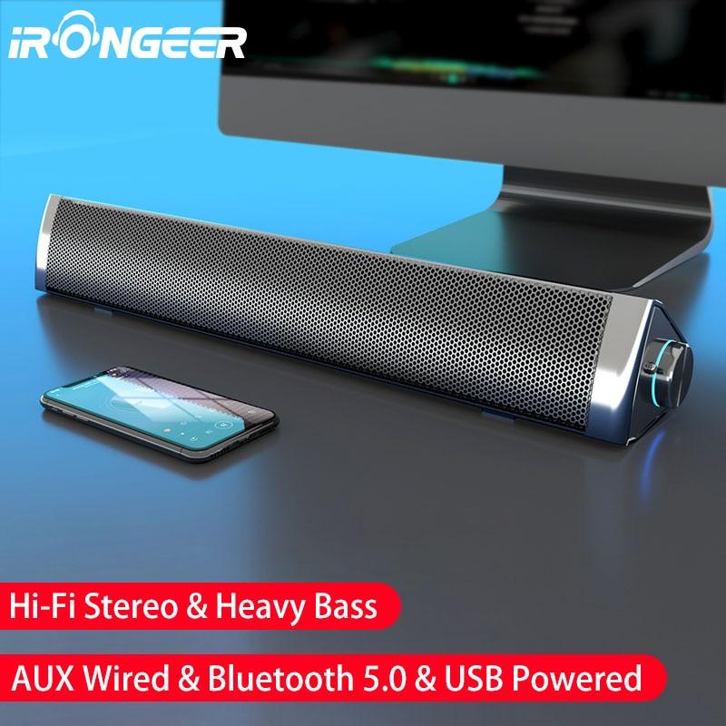 Soundbar tv computer speakers pc speaker box bluetooth laptop music center sound bar caixa de som altavoz barra de sonido 2021