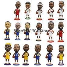 21cm jogador do esporte figuras de basquete estrelas brinquedo figuras collectible modelo de brinquedo acessórios mesa escritório presente boneca
