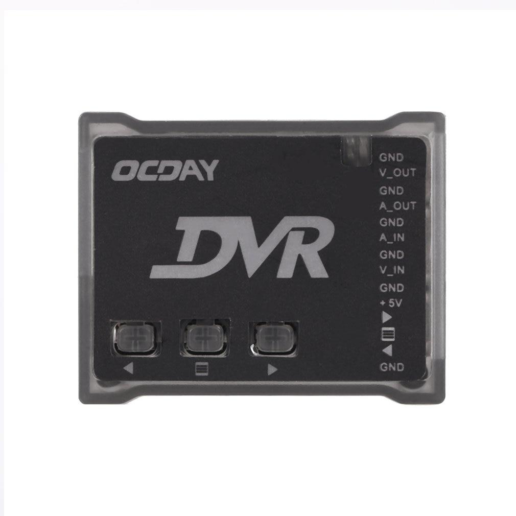 OCDAY Pro 5,8G FPV мини модуль видеорегистратора видео аудио рекордер fpv-рекордер RC кварцевый рекордер для FPV радиоуправляемые мультикоптеры Дрон FPV