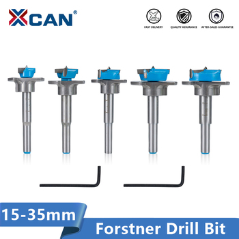 цена на XCAN Forstner Drill Bit 15-35mm Carbide Tipped Drill Bit Set Adjustable Core Drill Boring Bit Woodworking Hole Cutter