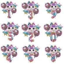 6 шт. из серии «Lol Surprise» Куклы Игрушка на день рождения детская одежда для мальчиков и девочек на день рождения вечерние украшения Святого Ва...