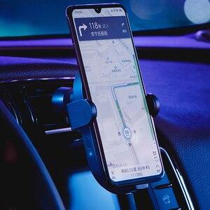 Image 5 - Xiaomi cargador de coche inalámbrico para teléfono, con Sensor infrarrojo inteligente, soporte para teléfono móvil y carga flash de 20W y alta potencia