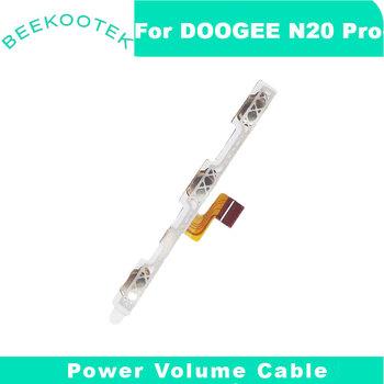 Nowy oryginalny N20 pro włączanie wyłączanie zasilania + głośność klawisz FPC w górę przycisk dół kabel FPC do smartfona Doogee N20 pro tanie i dobre opinie BEEKOOTEK CN (pochodzenie)