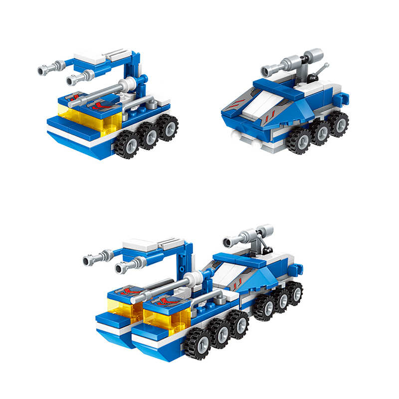 City Police Building Blocks Car Fighter Technic Truck SWAT WW2 Military Bricks Toys for Children Kids