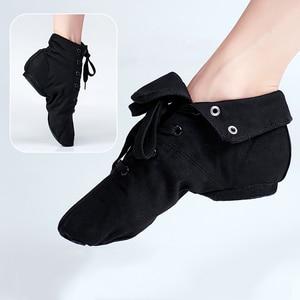 Image 2 - ใหม่สีดำสำหรับผู้ใหญ่ JAZZ รองเท้าเต้นรำเด็กแจ๊สเต้นรำ BOOT