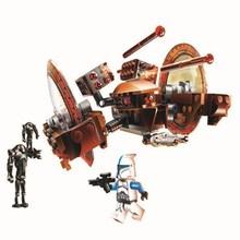 купить 10370 7 Hailfire-Class Droid Tank Model Building Blocks Enlighten DIY Figure Toys for Children Christmas Gift онлайн