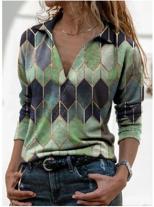 Aprmhisy Graphic Shirts Women Autumn New Long Sleeve Casual Streetwear Blouse Shirt Blusas Femininas 15