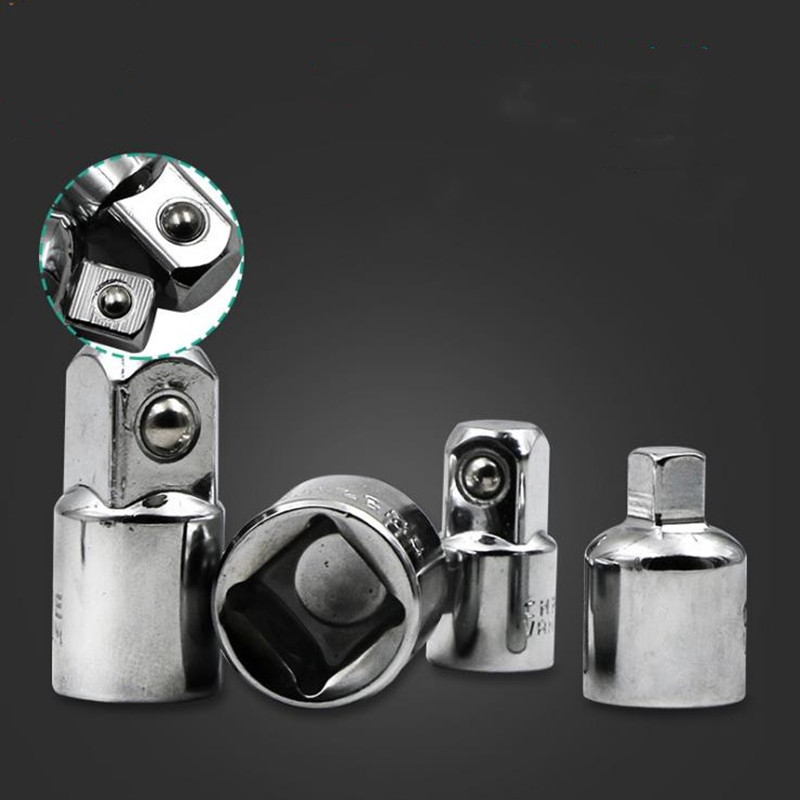 """1//4/"""" 3//8/"""" 1//2/"""" Drive Ball Lock Ratchet Socket Adapter Reducer Converter CR-V"""