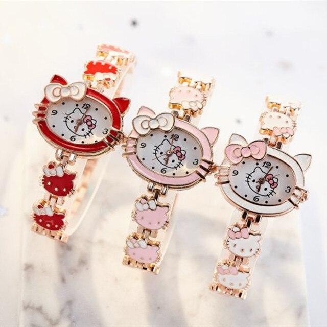 2019 nova reloj crianças relógios para meninas dos desenhos animados adorável pulseira estudante menina relógio bonito relógio de quartzo presente aniversário alta qualit 5