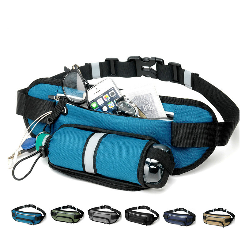 New Sports Multifunction Waist Pack Men's Outdoor Cycling Sports Bag Female Shoulder Crossbody Bag Waterproof Running Waist Pack