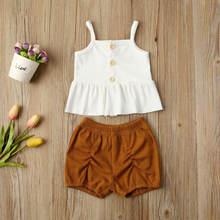 Летняя одежда для маленьких девочек от aa 2020 рубашка на бретельках