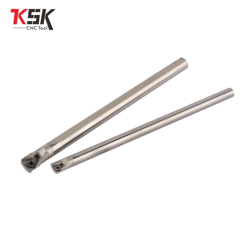 Long Tool Life 5mm-25 CNR0005 6 7 8 10 12 Solid Carbide Full Screw Anti Vibration Boring Bar Tool Holder Cutting Tool Threading