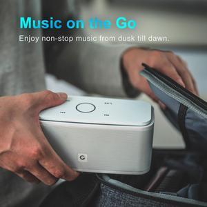 Image 2 - דוס SoundBox מגע ורוד Bluetooth רמקול 2*6W נייד אלחוטי רמקולים סטריאו צליל תיבת עם בס Parlante bluetooth טור