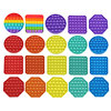 1PCS Rainbow Bubble Pop Fidget Kids Toy Sensory Autisim Special Need Its Anti-stress Stress Relief Squishy Fidget Toy For Kids