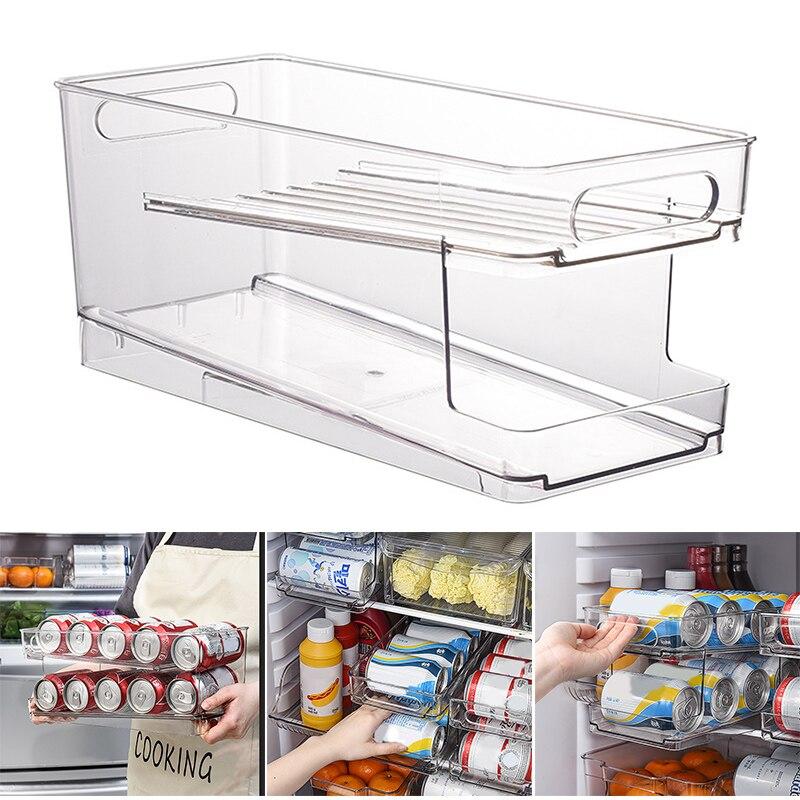 Beverage Holder Can Organizer Rack Stackable Storage Organizer Tray Rack Refrigerator Kitchen Organizador Rangement Cocina Best Deal D9f7c Goteborgsaventyrscenter