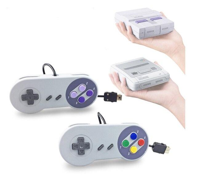 Oyun denetleyicisi oyun Joystick Gamepad denetleyicisi için Nintendo SNES mini oyun pedi bilgisayar kontrol Joystick