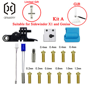 Image 1 - 2021!Artillery3D Extruder Sidewinder X1 and Genius Silicone Nozzle Kit