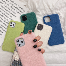 Moskado Soft Warm Winter Plush Phone Cases For ipho