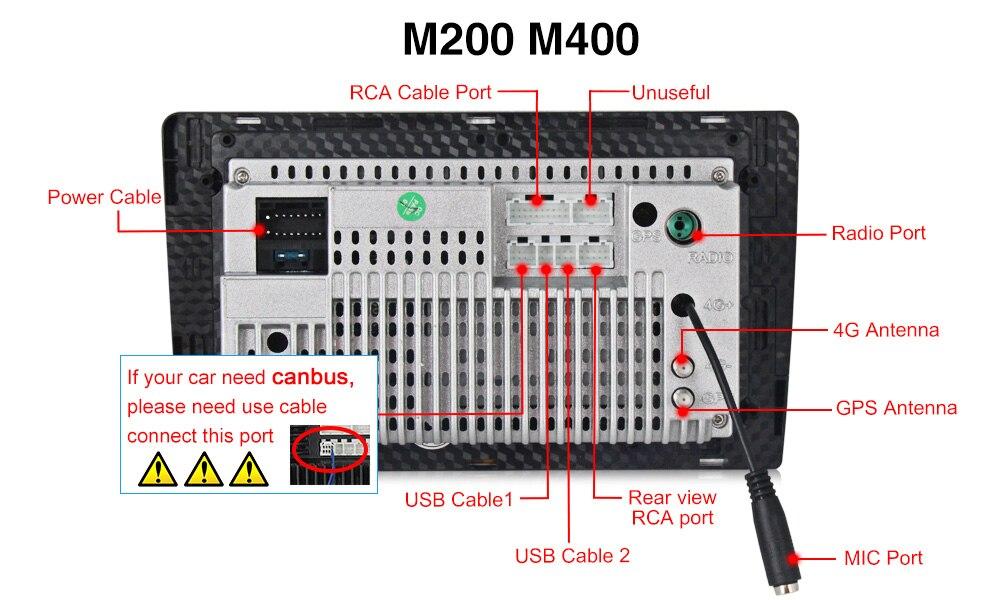 M400背面