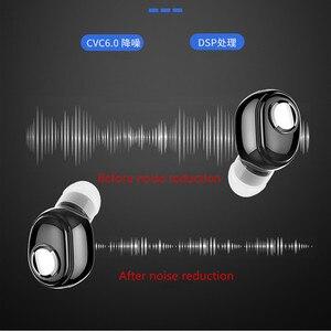 Image 2 - L15 سماعات بلوتوث سماعات أذن صغيرة داخلية سمّاعات رأس لاسلكية مانعة للضوضاء سماعات صوت أصغر سماعة أذن