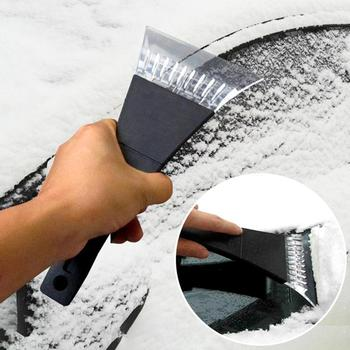 Car Auto Plastic Windshield Window Snow Ice Frost Removal Scraper Cleaning Tool Ice Scraper image