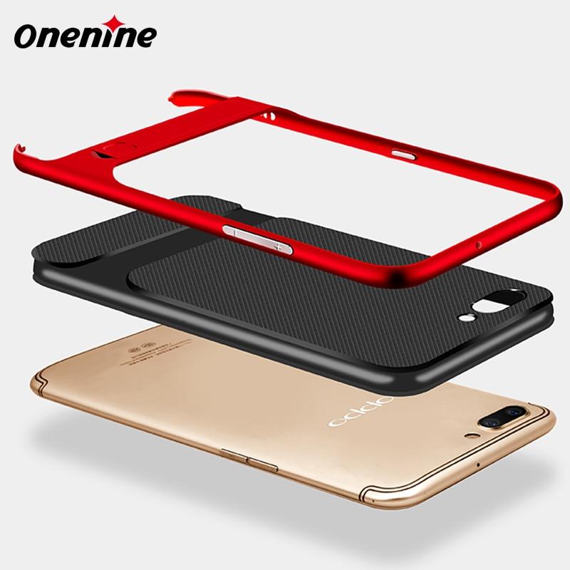 Onenine 3D Kickstand telefonfodral för OPPO R11 fodral skal 5,5 tums - Reservdelar och tillbehör för mobiltelefoner - Foto 3