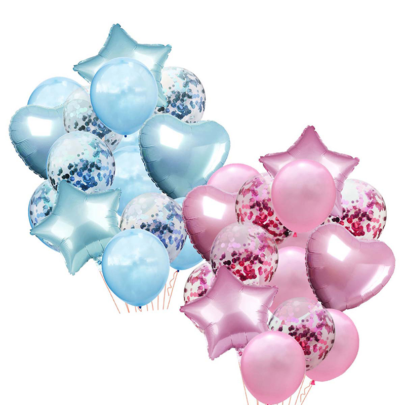 10pcs Multi Rose Gold Heart Foil Balloons For Birthday And Wedding Party Decorations 5