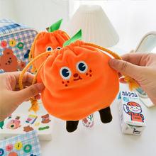 Милая Оранжевая Сумка на шнурке milkjoy милые аксессуары сумка