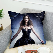 the Vampire Diaries Pillow Case Polyester 3d all ove printed Decorative Pillowcases Throw Pillow Cover style-1 marilyn monroe pillow case polyester decorative pillowcases throw pillow cover style 9