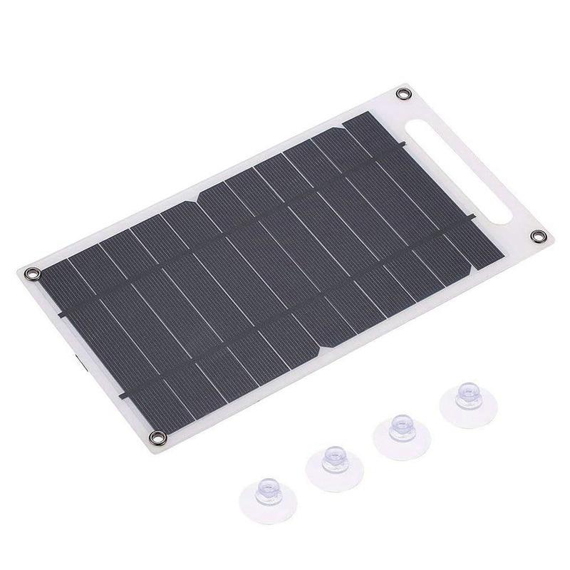 papel em forma de carregador porta usb portatil de alta potencia do painel solar de silicio
