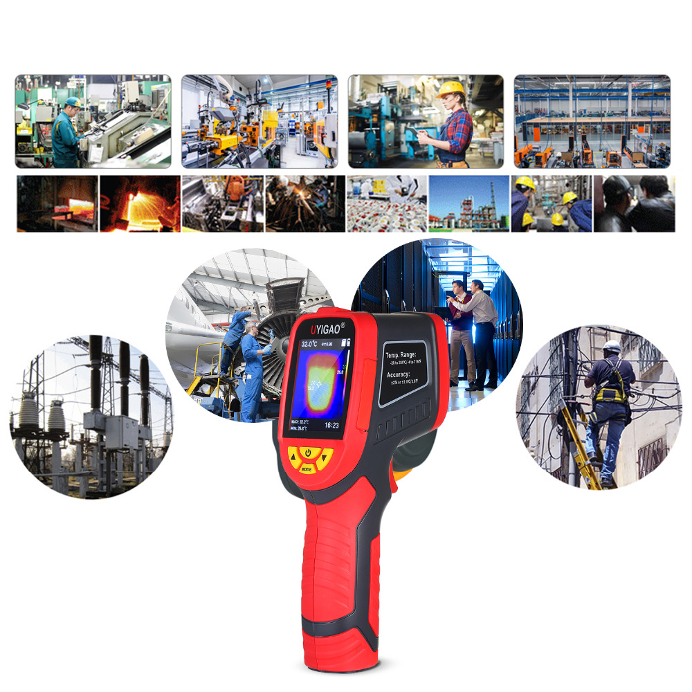 Digital Mini Infrared Thermal Camera Made With ABS Material For Measuring Tools 11