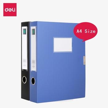 Deli pudełko na dokumenty A4 pudełko na dokumenty Sticky Data Box Folder schowek zestaw plików multi-specyfikacja duża pojemność przechowywania asystent plików tanie i dobre opinie Plik skrzynka Przypadku Deli File Box A4