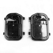 Farol capa protetora l/r 4f0941159 4f0941158 para audi a6 2005 2011 a6 allroad quattro 2007 2011 rs6 2008 2011